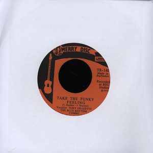 BLUE RHYTHM COMBO - Take The Funky Feeling - 7inch x 1