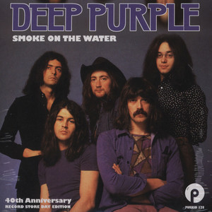 DEEP PURPLE - Smoke On The Water - 45T x 1