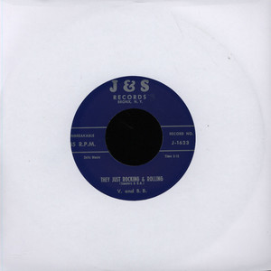 V AND BB - They Just Rocking & Rolling - 7inch x 1