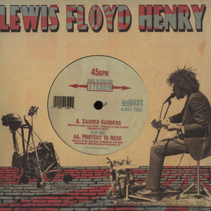 LEWIS FLOYD HENRY - Sacred Gardens - 7inch x 1