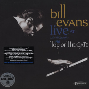 BILL EVANS - Live At Art Dlugoff's Top Of The Gate - 33T x 3
