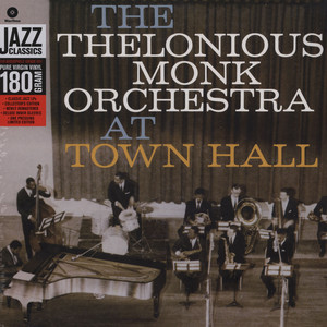 THELONIOUS MONK ORCHESTRA - At Town Hall - 33T