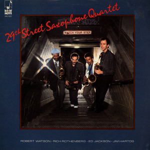 29TH STREET SAXOPHONE QUARTET - Watch Your Step - LP