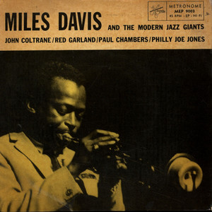 MILES DAVIS QUINTET, THE - 'Round About Midnight / You're My Everything - 45T x 1