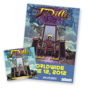 J DILLA AKA JAY DEE - Rebirth Of Detroit Poster Bundle - CD