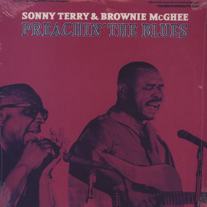 SONNY TERRY / BROWNIE MCGHEE - Preachin The Blues - 33T