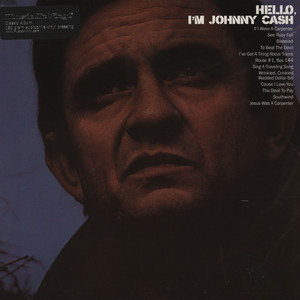 JOHNNY CASH - Hello, I'm Johnny Cash - 33T