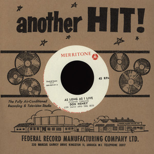 DON HENRY, LYNN TAITT & THE JETS / PULUS - As Long As I Live / Sow To Reap - 7inch x 1