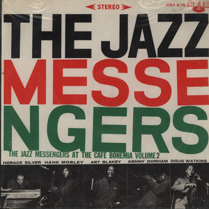 ART BLAKEY AND THE JAZZ MESSENGERS - At The Cafe Bohemia Volume 2 - 33T