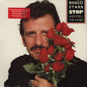 RINGO STARR - Stop & Smell The Roses - 33T