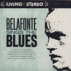 Harry Belafonte Belafonte Sings The Blues LP