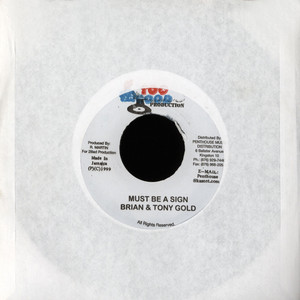 BRIAN / TONY GOLD - Must Be A Sign - 45T x 1
