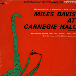 MILES DAVIS - Miles Davis At Carnegie Hall - 33T