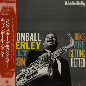 Cannonball Adderley With Milt Jackson Things Are Getting Better LP