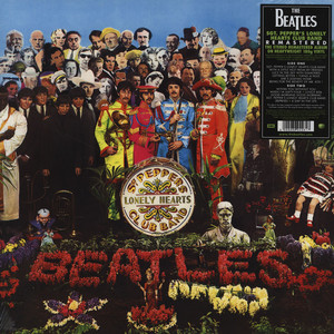 BEATLES, THE - Sgt Pepper's Lonely Hearts Club Band - 33T