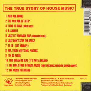 ELBEE BAD - The Prince Of Dance Music: The True Story Of House Music - CD