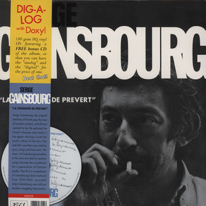 Serge Gainsbourg La+Chanson+De+Prevert LP