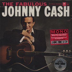 JOHNNY CASH - Fabulous Johnny Cash - 33T