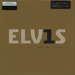 ELVIS PRESLEY - 30 #1 hits - LP x 2