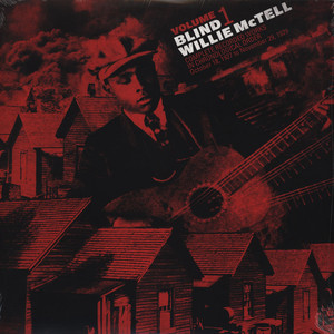 BLIND WILLIE MCTELL - Complete Recorded Works in Chronological Order Volume 1 - LP