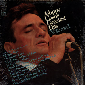 JOHNNY CASH - Greatest Hits Volume 1 - 33T
