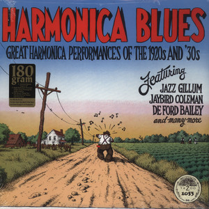 HARMONICA BLUES - Great Harmonica Performances Of The 1920'S & 30'S - LP