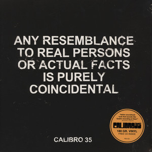 CALIBRO 35 - Any Resemblance To Real Persons Or... - LP + bonus