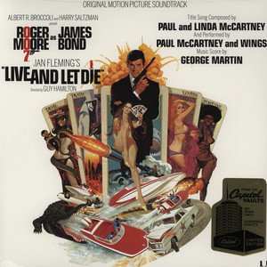 GEORGE MARTIN - OST James Bond Live & Let Die - LP