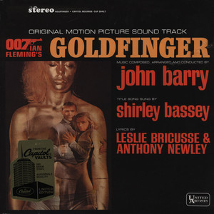 JOHN BARRY - OST James Bond Goldfinger - LP