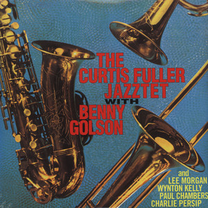 CURTIS FULLER JAZZTET, THE - With Benny Golson - LP