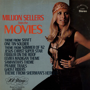 101 STRINGS - Million Seller From The Movies - LP