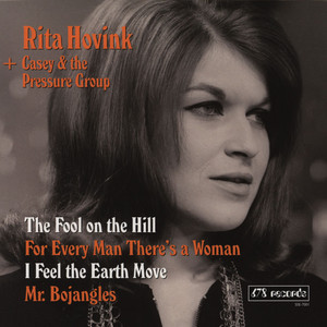 RITA HOVINK AND CASEY & THE PRESSURE GROUP - The Fool On The Hill EP - 7inch x 1