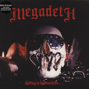 Megadeth Killing+Is+My+Business LP
