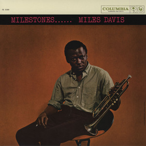 MILES DAVIS - Milestones Mono - 33T