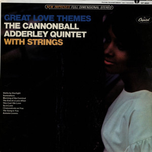 CANNONBALL ADDERLEY QUINTET, THE - Great Love Themes - LP