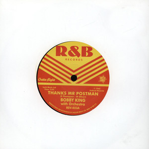 BOBBY KING - Thanks Mr Postman - 7inch x 1