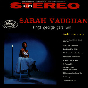 Sarah Vaughan Sarah Vaughan Sings George Gershwin Volume Two LP