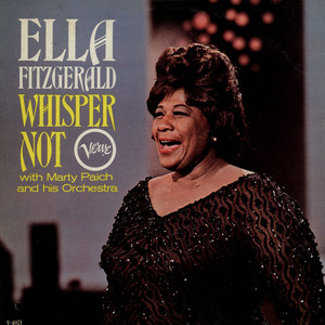 ELLA FITZGERALD WITH MARTY PAICH ORCHESTRA - Whisper Not - 33T