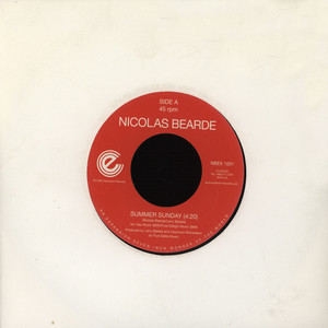 NICOLAS BEARDE - Summer Sunday - 7inch x 1