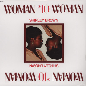 SHIRLEY BROWN - Woman To Woman - LP