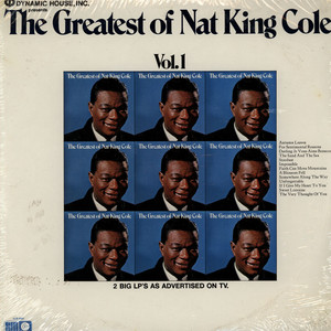 Nat King Cole The Greatest Of Nat King Cole LP