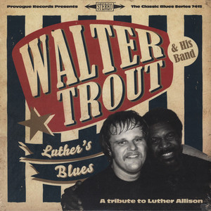 WALTER TROUT - Luther's Blues - A Tribute To Luther All - LP x 2