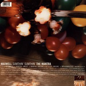 MAXWELL - Sumthin' Sumthin' The Mantra - 12 inch x 1
