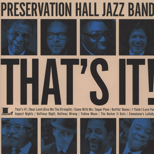 PRESERVATION HALL JAZZ BAND - That's It - LP