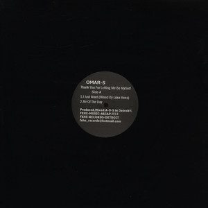 OMAR S - Thank You For Letting Me Be Myself (Vinyl ABCD) - LP x 2