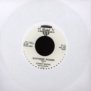 TOMMY BROWN / BIG WALTER - Southern Women / Back Home To Mama - 7'' 1枚