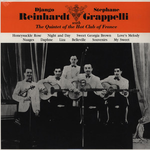 DJANGO REINHARDT & STEPHANE GRAPPELLI - With The Quintet Of The Hot Club Of France - LP