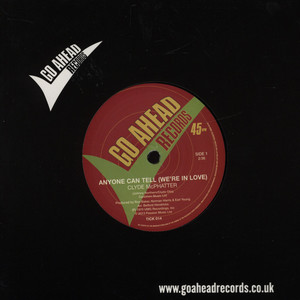 CLYDE MCPHATTER - Anyone Can Tell (We're In Love) - 7inch x 1