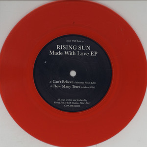 RISING SUN - Made With Love EP - 7inch x 1