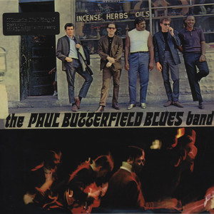 PAUL BUTTERFIELD BLUES BAND, THE - The Paul Butterfield Blues Band - LP